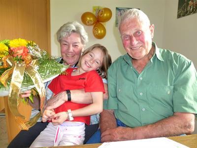 Anna Und Franz Hörburger Feierten Goldene Hochzeit Doren
